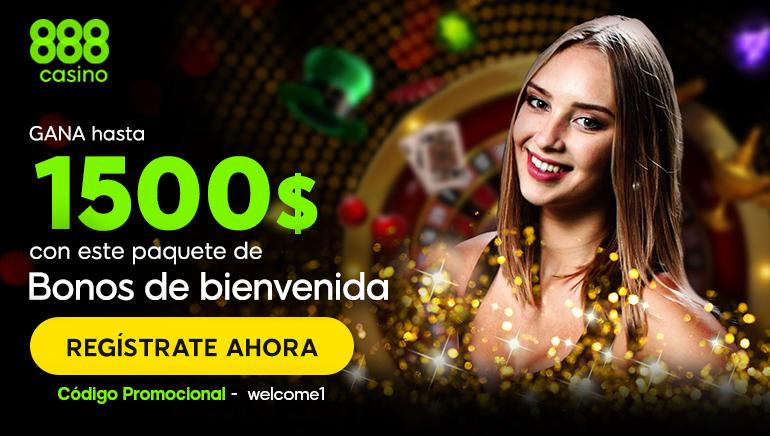 A nadie le amarga un dulce: bono de bienvenida del Casino 888