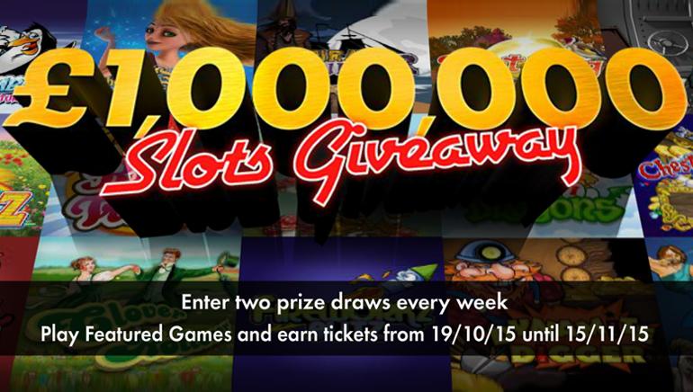 Llévate una fortuna participando en el sorteo de 1.000.000 £/1.500.000 $ del casino bet365