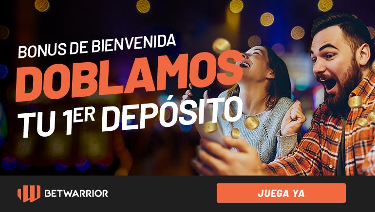 En Perú BetWarrior se viste de fiesta con su bono de bienvenida del 100% hasta 500 soles en su primer y segundo depósito