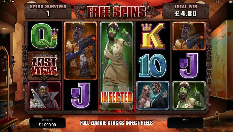 Lost Vegas: nueva tragamonedas sobre zombies de Microgaming