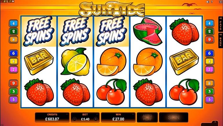 Nuevas tragamonedas de Microgaming en el casino Golden Riviera